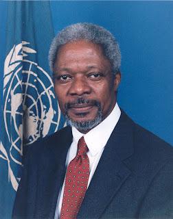 Кофи Аннан в Сирии