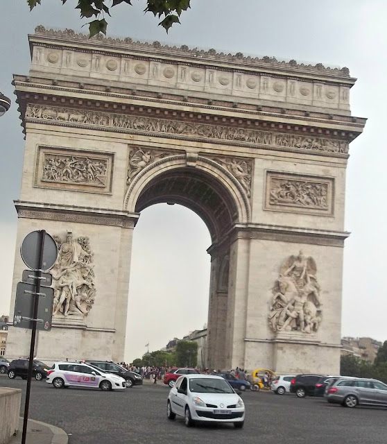 Arc de Triomphe, another thing to see when visiting Paris