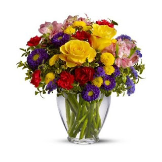 Send Bright and Cheery Get Well Flowers