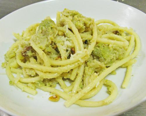 Ricetta broccoli arriminati bimby