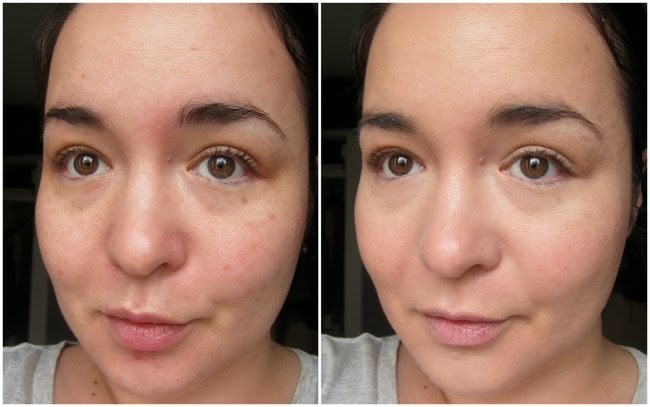 La Roche Posay CC Cream Before and After