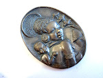 Mother & child Brooch