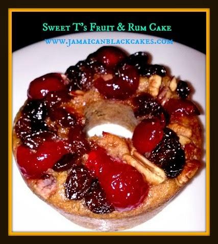 Jamaican Spiced Fruit Cake