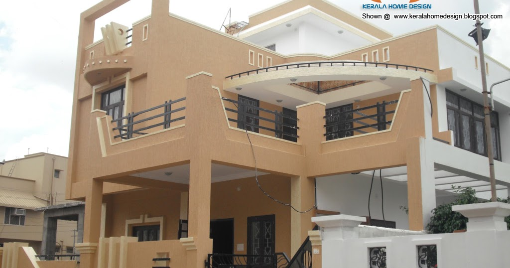 N Elevation Of Home : North indian home design elevation kerala