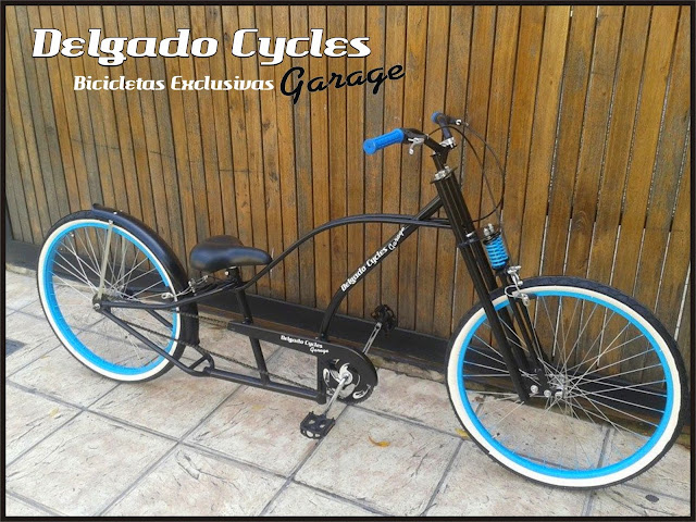 Bicicleta Chopper Evolution II Springer.