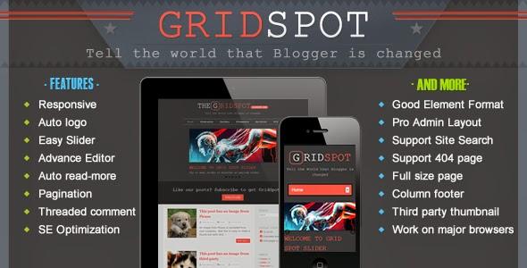Download Free Grid Spot v2.1 Responsive Blogger Template