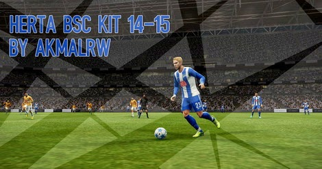PES 2013 HERTHA BSC 14-15 Kits by AkmalRW