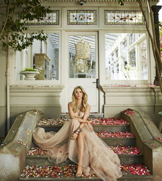 Delta Goodrem poses for Women's Weekly Magazine November 2014