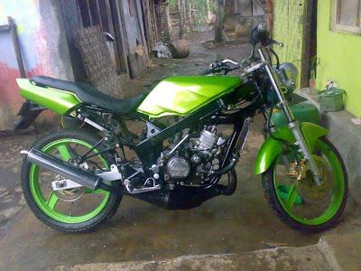 topeng racing motor