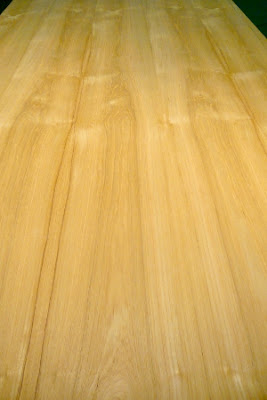 Flat Cut 4x8 Wood on Wood Teak Veneer