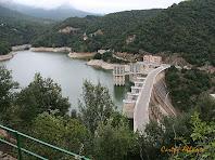El pantà i la presa de Sau des de les escales. Autor: Carlos Albacete