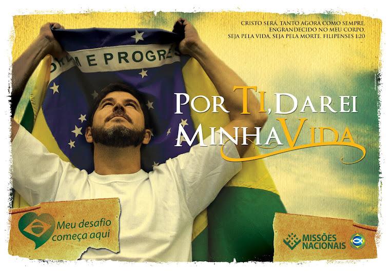 Por amor te Ti Ho! Brasil . .  Não me calarei!!!