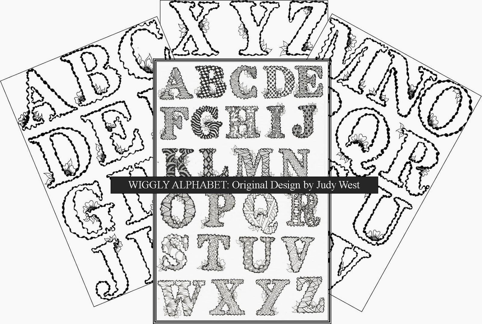 Creative Ways Of Writing Alphabets