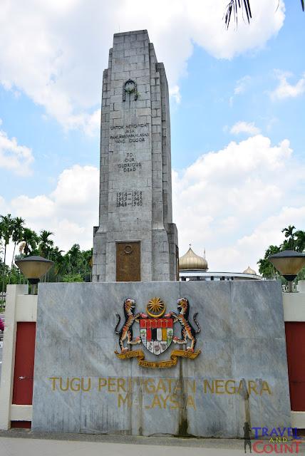 Peringatan Malaysia statue