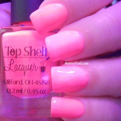Top Shelf Lacquer Pink Cosmopolitan swatches