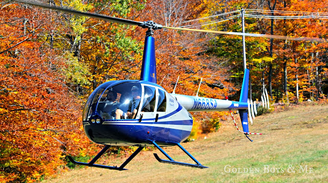 helicopter fall foliage gore mountain, NY via www.goldenboysandme.com