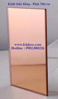 Kính thủy màu hồng