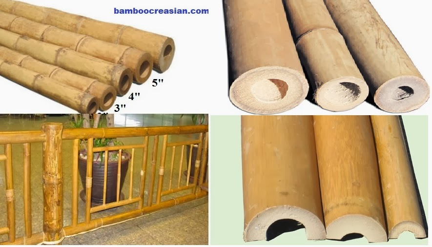 Bamboo Poles Perfect Ideas For Building A Balustrade Railing Bamboo Pole Railing Fence To Prevent People From Falling Over The Edge As A