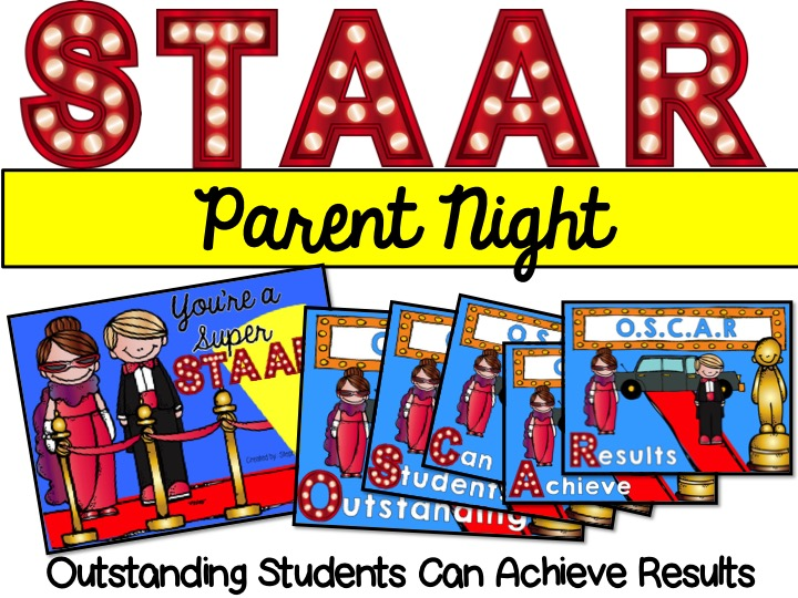 Hollywood STAAR Theme Parent Night