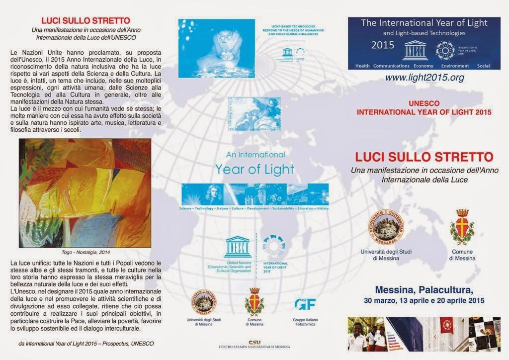 INTERNATIONAL YEAR OF LIGHT 2015 - LUCI SULLO STRETTO DI MESSINA