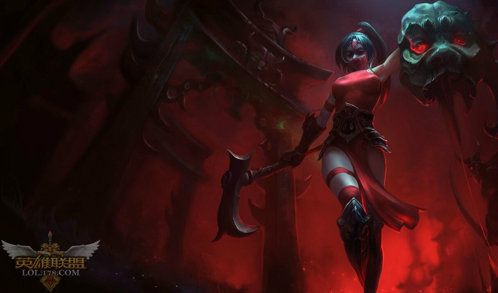 how to build the new akali