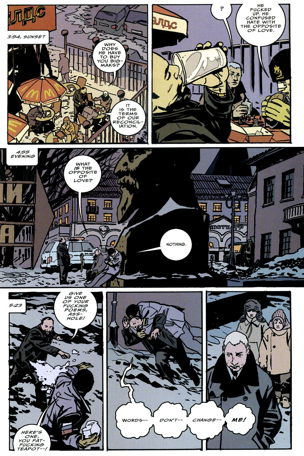 Read online The Winter Men comic -  Issue #4 - 16