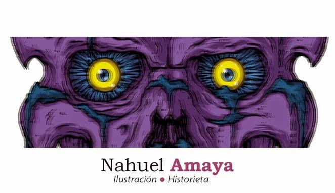 Nahuel Amaya • Ilustración / Historieta