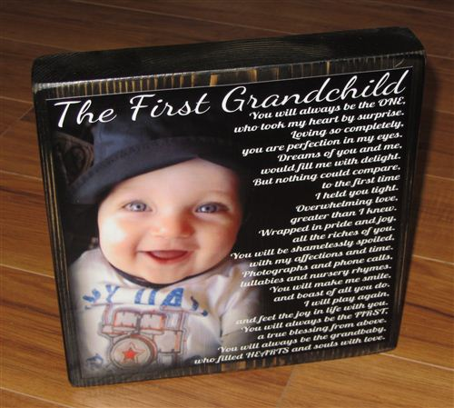 The First Grandchild Poems On Grandparents Day Show The Love The Grandparents Intents For Their Children
