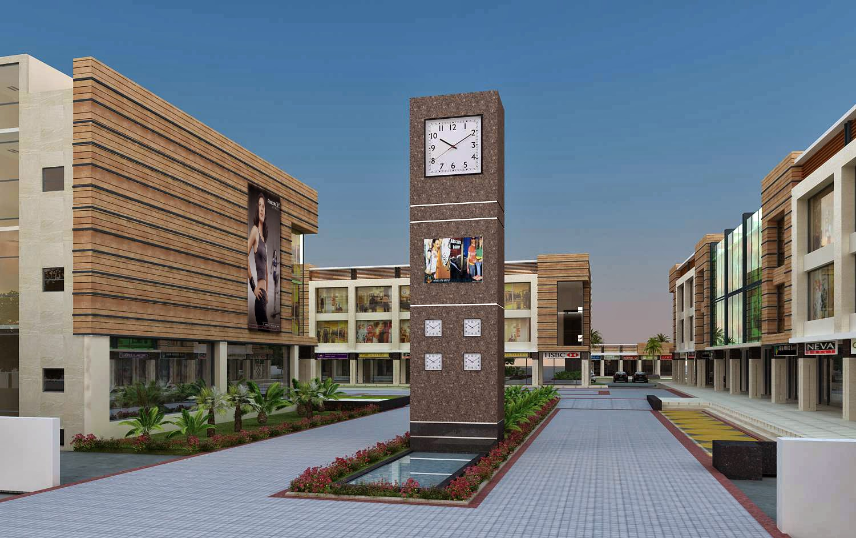 Omaxe Clockton High Street ( SCO, Booths ) Mullanpur New-Chandigarh