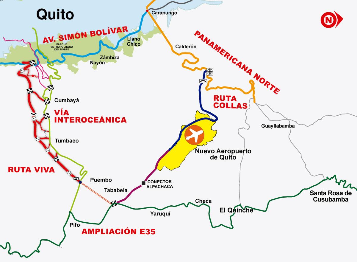 Aeroporto Quito : Quito la capital política y económica del ecuador
