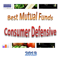 Best Consumer Defensive Mutual Funds 2013