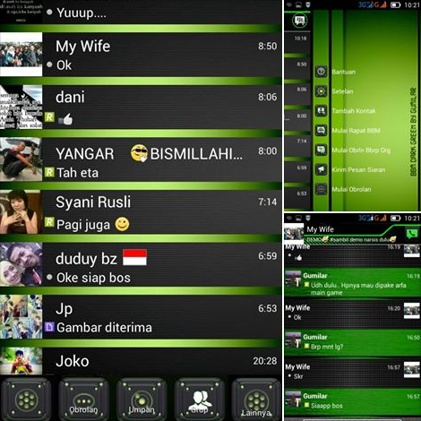 BBM Mod Dark Green