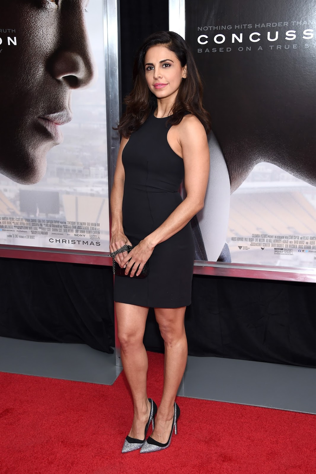 """Afghan actress Azita Ghanizada attends the """"Concussion"""" Premiere in New York"""