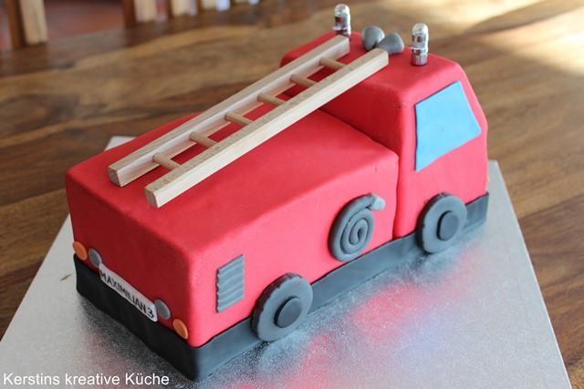 Kuchen rezepte feuerwehrauto Feuerwehrmann Sam