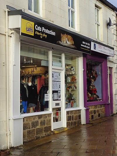 Cats Protection charity shop