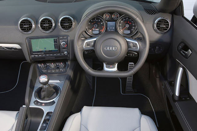 2012 Audi TT RS Roadster Front Interior