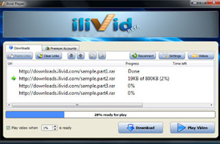 برنامج تسريع التحميل ilivid programs Download Accelerator Manager