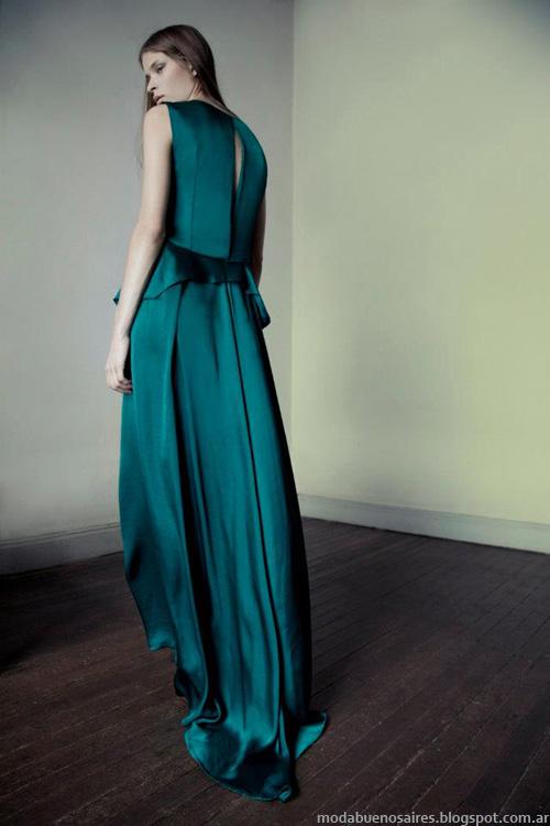 Daniela Sartori invierno 2013 vestidos de fiesta.