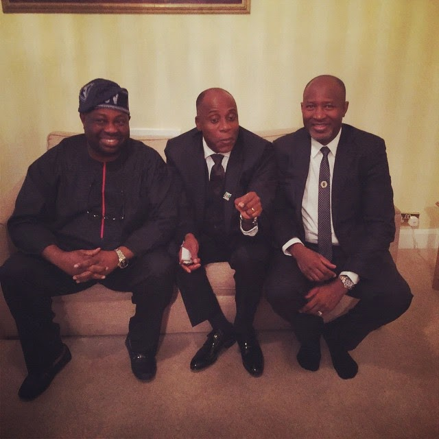 [Photos] Amaechi, Dele Momodu, Keyamo, Others, Campaign In London For Buhari