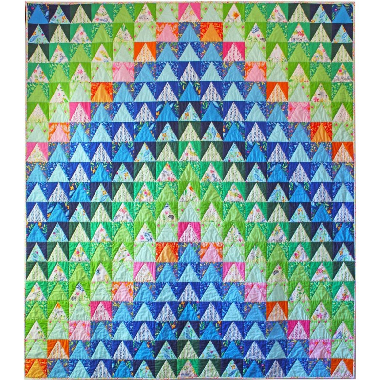 "free pattern! ""over the mountain"""