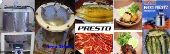 Mesin Presto Ikan dan Daging
