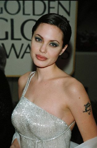 dragon Angelina tattoo jolie