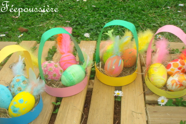 Tuto Paniers de Pâques