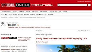 Το Spiegel το παραδέχεται: Οι Γερμανοί είναι ανίκανοι να χαρούν οτιδήποτε και ζηλεύουν τους Έλληνες!!