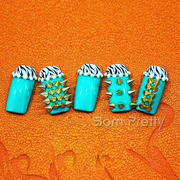 Born Pretty Store Blog: Characteristics 3D Nail Art Decoration from BPS