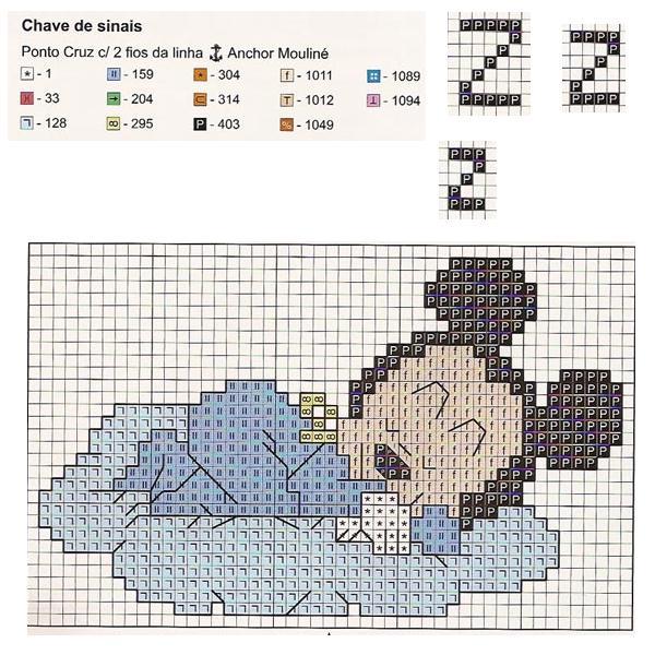 Punto Croce Disney Babies 20 Topolino