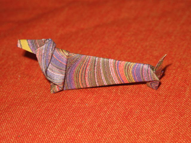 Just Create Every Day Dachshund Origami