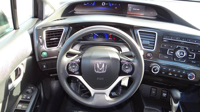 Novo Civic 2014 - interior