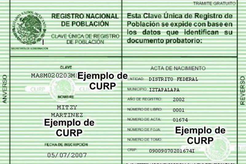 CURP de Doble Nacionalidad | Apostille / Apostilla / Apostillado de ...
