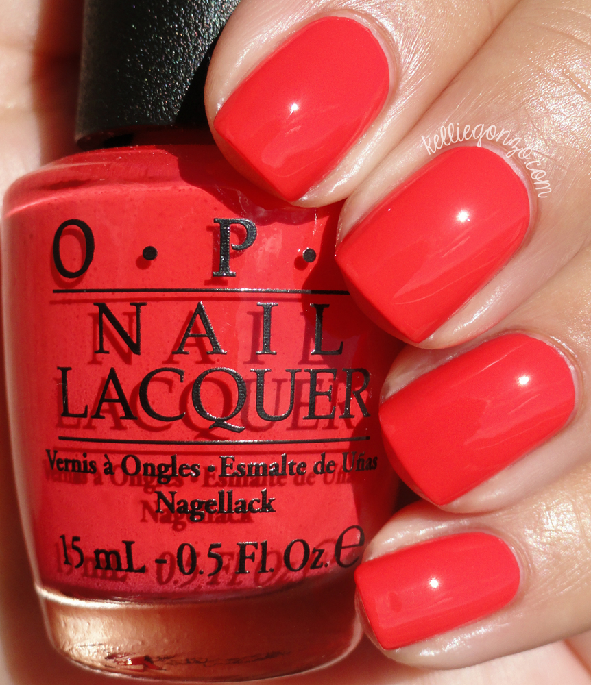 OPI Spring 2015 Hawaii Collection Swatches And Review